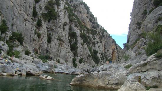La caune d'Arago