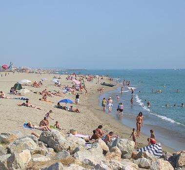 La plage Barcarès